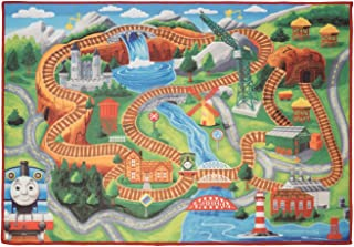 Perfect for Bedroom and Playroom Thomas The Tank Engine & Friends 2'x6' Game Rug