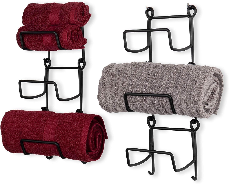 Wallniture BOTO 購入 Towel Rack 《週末限定タイムセール》 for Decor St Wall Bathroom Stackable