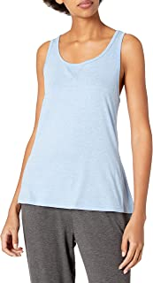 Hanes Women's X-Temp Comfort Tee, Heather Blue/Blue