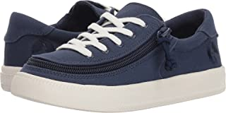 BILLY Footwear Kids Unisex Classic Lace Low (Toddler/Little Kid/Big Kid) Navy 4 M US Big Kid