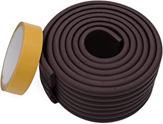 Store2508® Wide Flat Design Child Safety Strip WithStrong Fibreglass Tape for Baby Safety Child Proofing. (Brown)