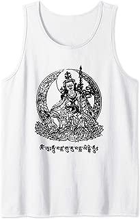 Padmasambhava Guru Rinpoche Tibetan Buddha Mantra Buddhist Tank Top