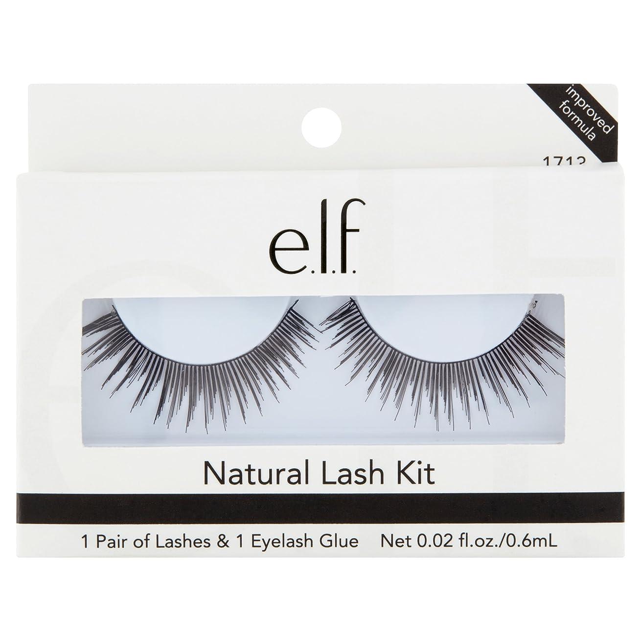 満たすアクセスできないアコードe.l.f. Essential Natural Lash Kit - Black (並行輸入品)