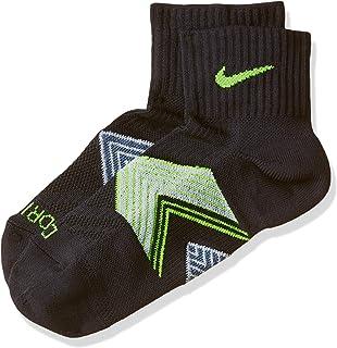 NIKE, One-Quarter Socks Running Dri Fit Cushioned Calcetines, Unisex