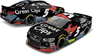 Lionel Racing Kasey Kahne #5 Great Clips 2016 Chevy SS NASCAR Color Chrome 1:24 Scale Diecast Car