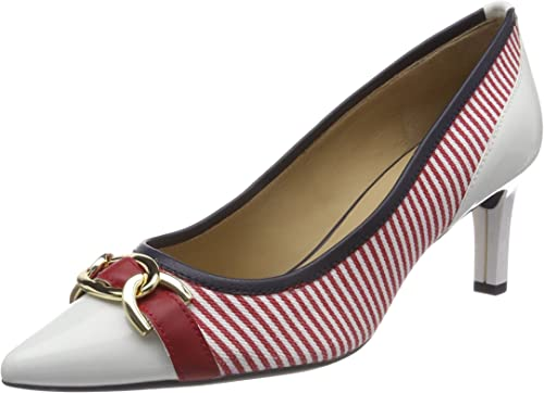 Geox D Bibbiana D, zapatos de Tacón para mujer