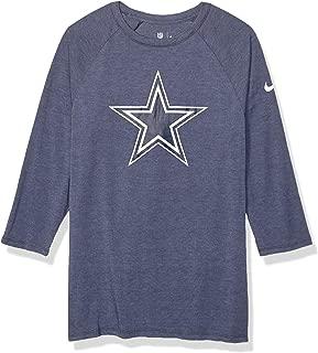 Dallas Cowboys NFL Mens Nike Tri-Vault Taglan Tee