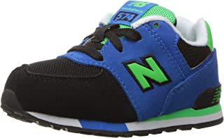 New Balance Kids' 574 Fashion Sneaker Cut Paste (Tod) Running Shoe