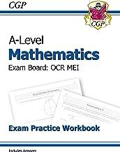 New A-Level Maths for OCR MEI: Year 1 & 2 Exam Practice Workbook (CGP A-Level Maths 2017-2018)