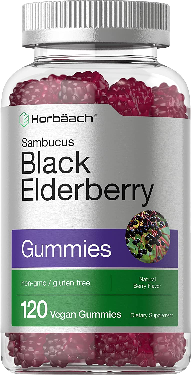 Black Elderberry Topics on TV Gummies 120 Count Vitamin and Tampa Mall Zinc C with