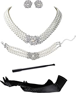 8810f5b91 Audrey Hepburn Holly Golightly Breakfast at Tiffanys Costume Jewelry and  Accessory Set