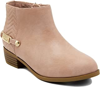 youth wedge booties