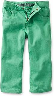 Carter's 女童迷你蓝色弹力牛仔裤(3 个月,绿色)