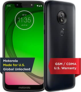 Moto G7 play | Unlocked | Made for US by Motorola | 2/32GB | 13MP Camera | Blue