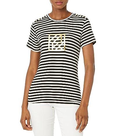 Anne Klein Hollie Logo Tee Shirt
