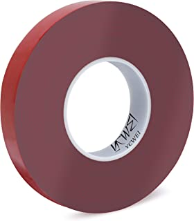 Double Sided Acrylic Heavy Duty Mounting Tape,Removable,Gray,Tough Bonding Strength,Weatherproof Indoor and Exterior Double Sides Brick Mounting Tape,1 in x 440in- 1mm Thickness 1 PCS