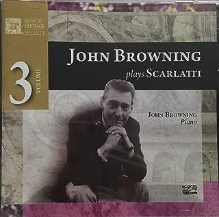 John Browning Plays Scarlatti