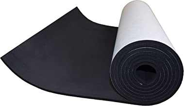 XCEL Extra Large, Value Roll, Sponge Neoprene Sheet with Adhesive 72 in x 17 in x 1/4 in, Made in USA, Easy Cut Material