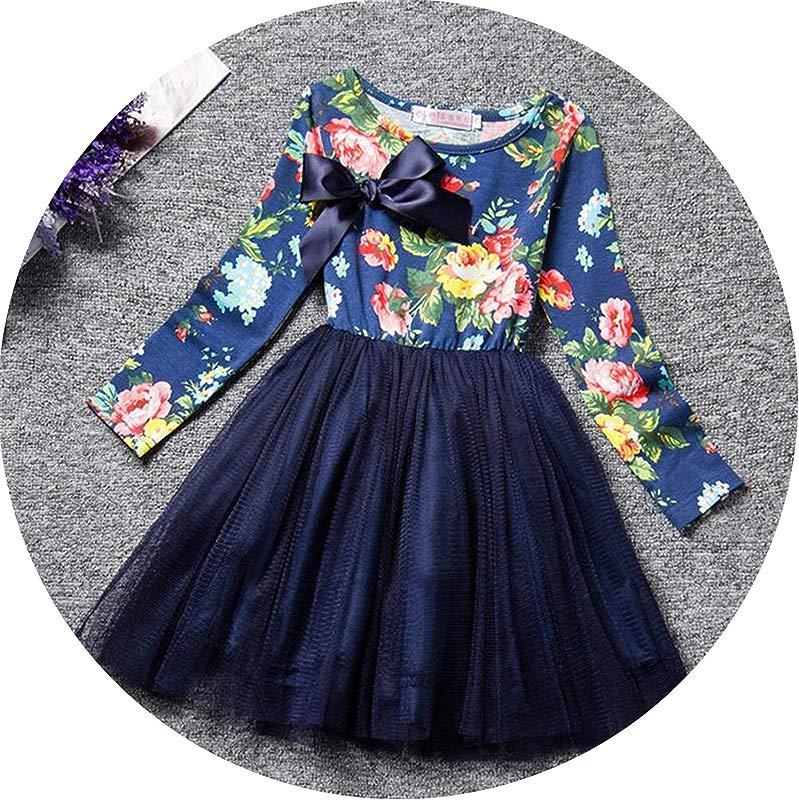 Petals Designs Girl Dress Children Party Costume Kids Formal Events Vestidos Infant Flower Dress Fluffy Wedding Gown 3 5 7T As Photo10 2T