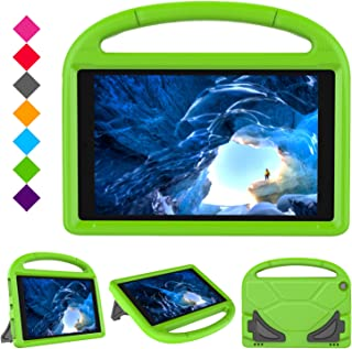 HD 10 Tablet Case for Kids - Roasan Light Weight Shock Proof with Stand Kid Proof Cover Kids Case for All New HD 10.1