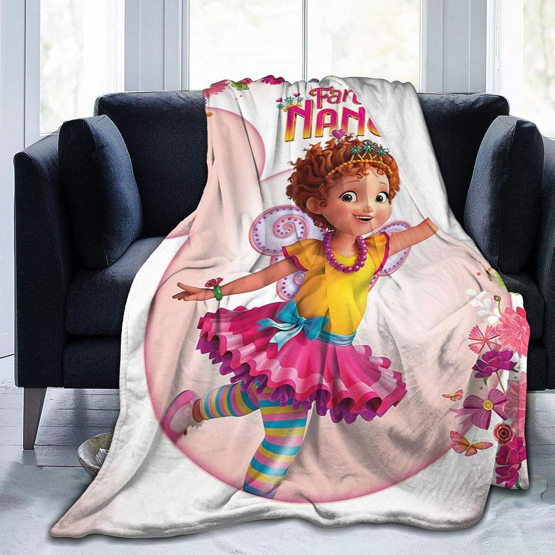 Otikiu Fan-cy Nan-cy Super popular Detroit Mall specialty store Ultra Soft Throw Ro Fleece Blanket Flannel