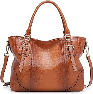 Best soft leather shoulder handbags Reviews