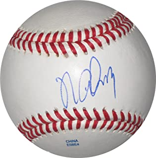 Norichika Aoki, Tokyo Yakult Swallows, Kansas City Royals, Milwaukee Brewers, Japan, Signed, Autographed, Baseball, a COA and Proof Photo of Norichika Signing the Baseball Will Be Included
