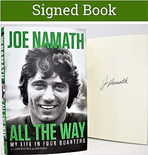 Best joe namath autographed card Reviews
