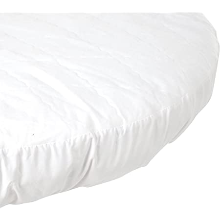 15x33 White BabyDoll Bedding Fitted Waterproof Cradle Mattress Protector
