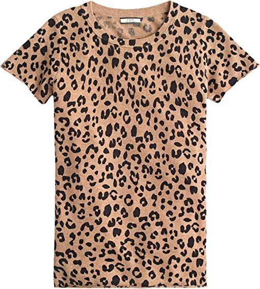 Heather Camel Mod Leopard
