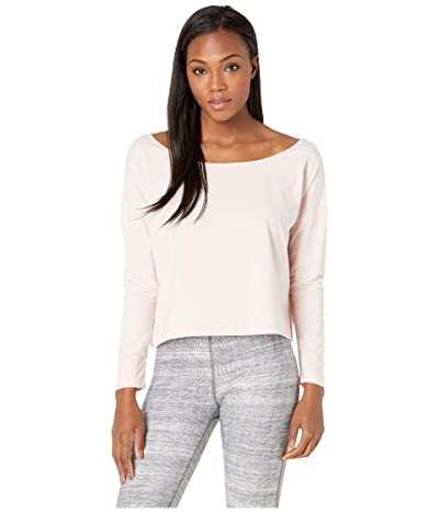 manduka Adorn Boxy Top (Blush) Women