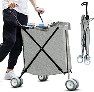 rolling garden cart with seat uk