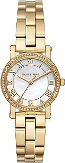 Michael Kors Womens Quartz Watch, Analog Display and Stainless Steel Strap MK3682