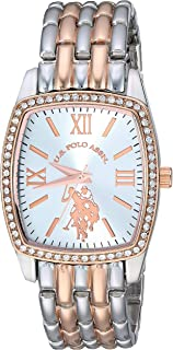 U.S. Polo Assn. Women's Stainless Steel Analog-Quartz...