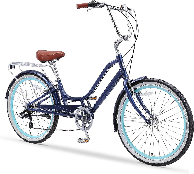 sixthreezero Relaxed Body 7-Speed Recumbent Comfort Bike