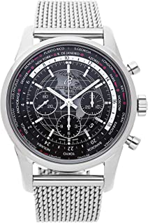 Breitling Transocean Mechanical (Automatic) Black Dial Mens Watch AB0510U4/BE84 (Certified Pre-Owned)