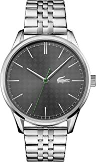 Lacoste Grey Dial Stainless Steel Watch For Men 2011073