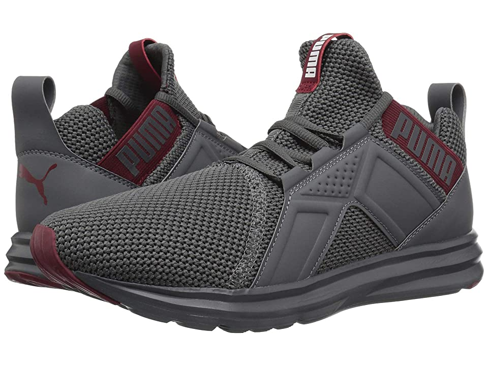PUMA Enzo Weave (Iron Gate/Pomegranate) Men