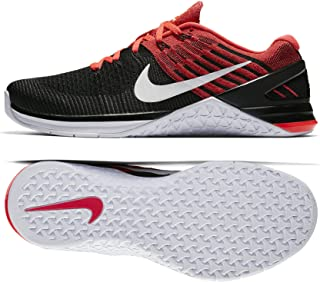 Metcon Dsx Flyknit Size 13 Mens Cross Training Black/White-Bright Crimson-Gym Red Shoes