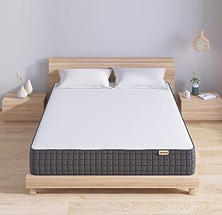 Sweetnight マットレス シングル 高反発 ベッドマットレス 高さ21cm こだわり中材 高密度ウレタン 通気性抜群 圧縮梱包 寝具 幅97×奥195×高さ21cm