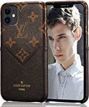 Mulafnxal Case for iPhone 11 Pro Max 6.5 inch[Genuine Leather Shockproof Ultra Thin Cover][Luxury Back Card Holder Design Cases for iPhone 11 Pro Max 6.5