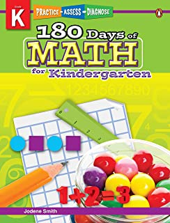 180 Days of Math Series for Kindergarten