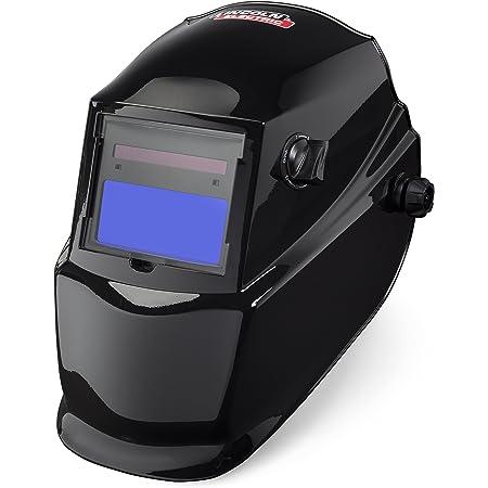 Lincoln Electric K3419-1 Glossy VAR 7-13 W/Grind ADF Helmet, Capacity, Volume, Polycarbonate, 11.12 x 10.25 x 11.87, Black (