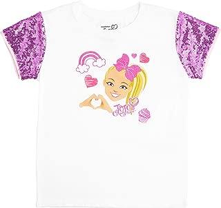 Girls' Sequin Short Sleeve T-Shirt