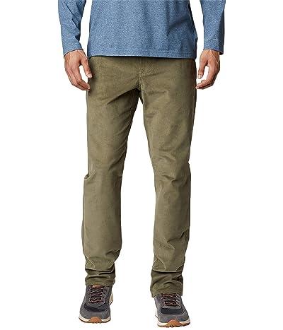 Columbia Flare Guntm Corduroy Pants (Stone Green) Men