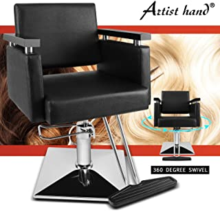 Artist Hand Barber Chairs Hydraulic Salon Chair Beauty Spa Hair Styling Chair Beauty Salon Equipment
