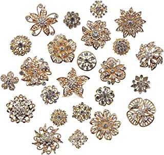 Best rose gold brooch lot Reviews