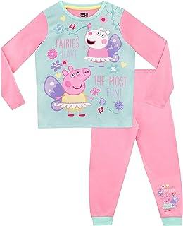 Peppa Pig Pijamas de Manga Larga para niñas Hadas