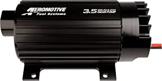 Aeromotive 11185 In-Line Brushless 3.5 Gear External Fuel Pump with Mounting Feet