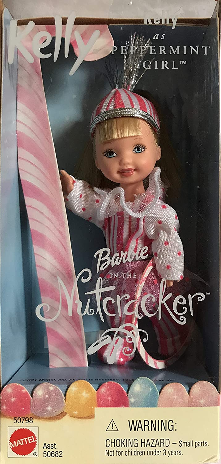Barbie Nutcracker Recommended KELLY Max 90% OFF as 2001 Peppermint Girl Doll